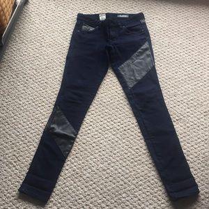Volcom Nu Metal legging jeans leather pants